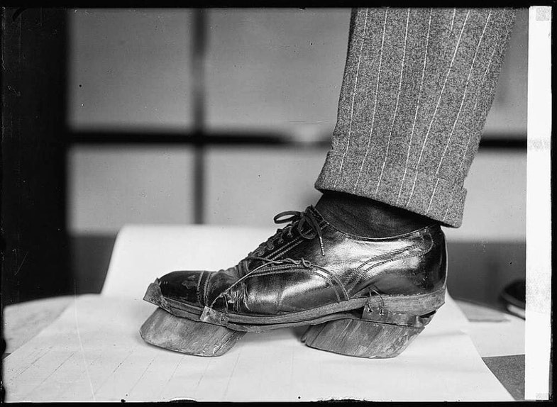 Prohibition Unit (Cow Shoes)