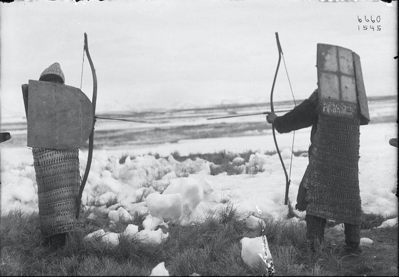 Koryak and Chukchi warriors in armor