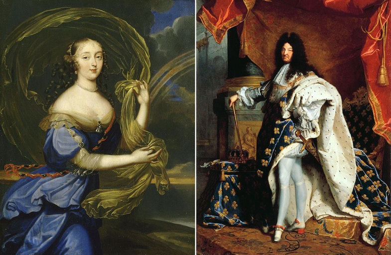 Франсуаза-Атенаис де Монтеспан Louis XIV