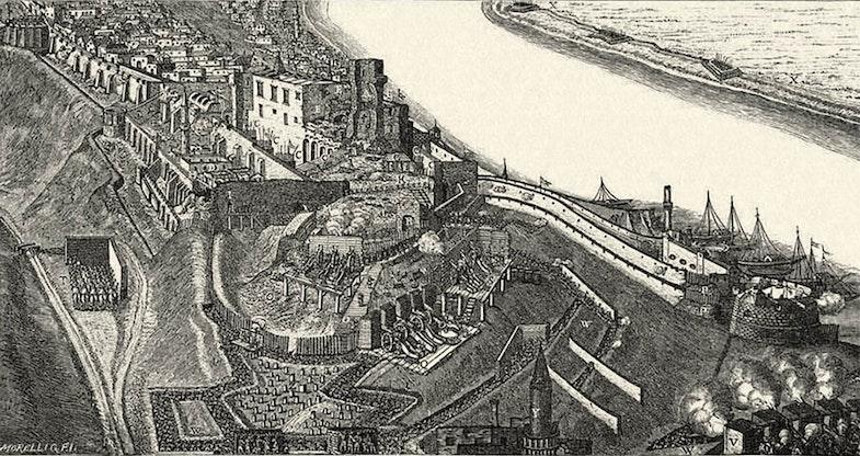 Buda and Pest 17 century