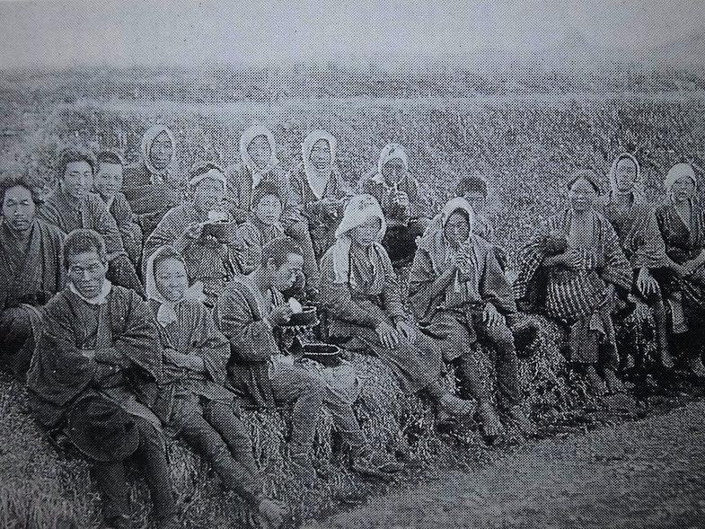Japanese peasants