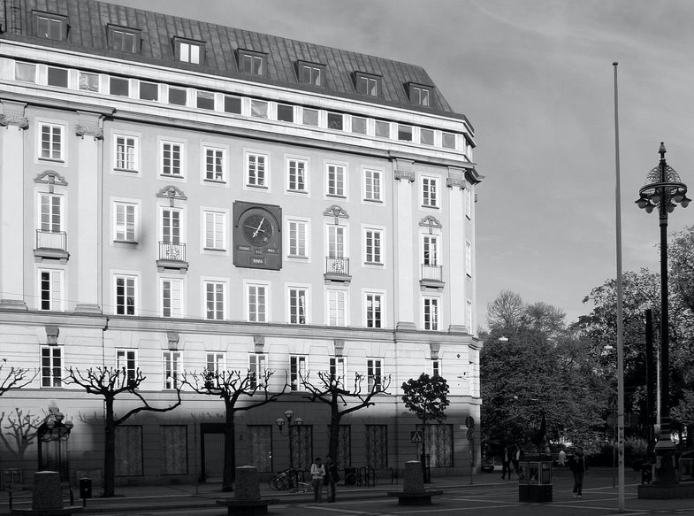 Kreditbanken at Norrmalmstorg, Stockholm, Sweden Stockholm syndrome