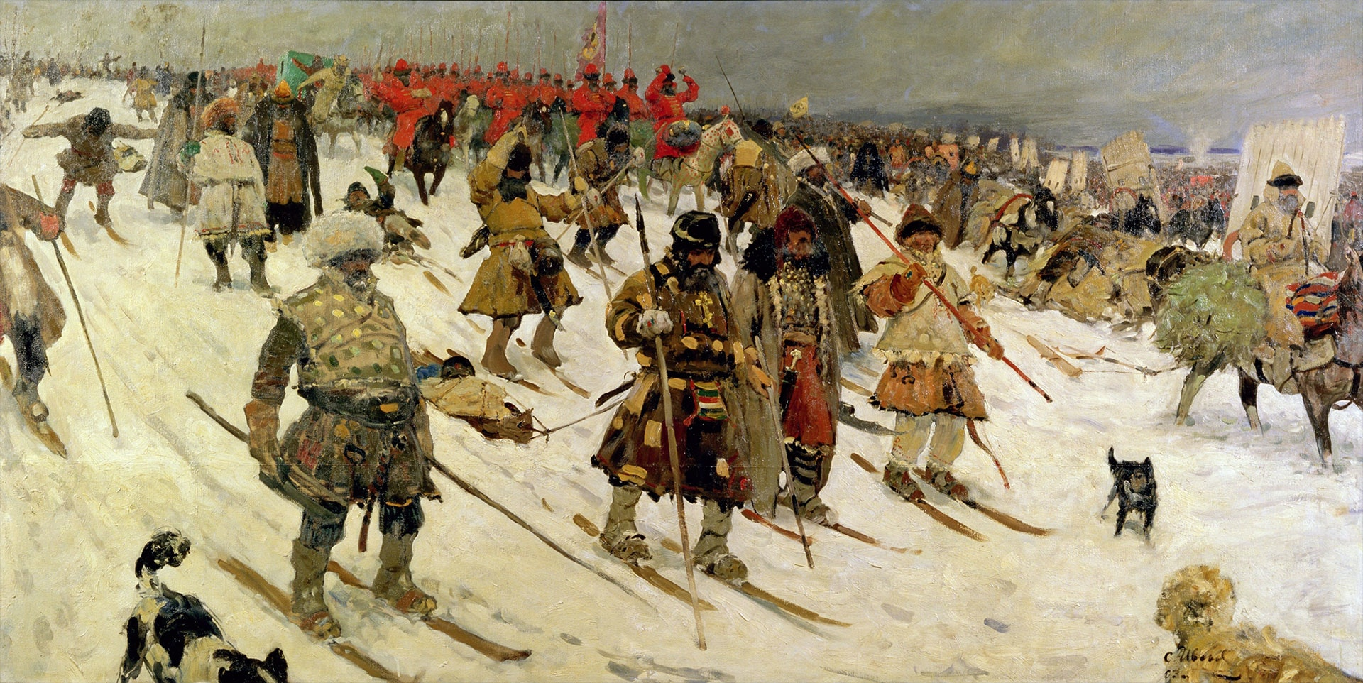 Winter campaign against the Lithuanians