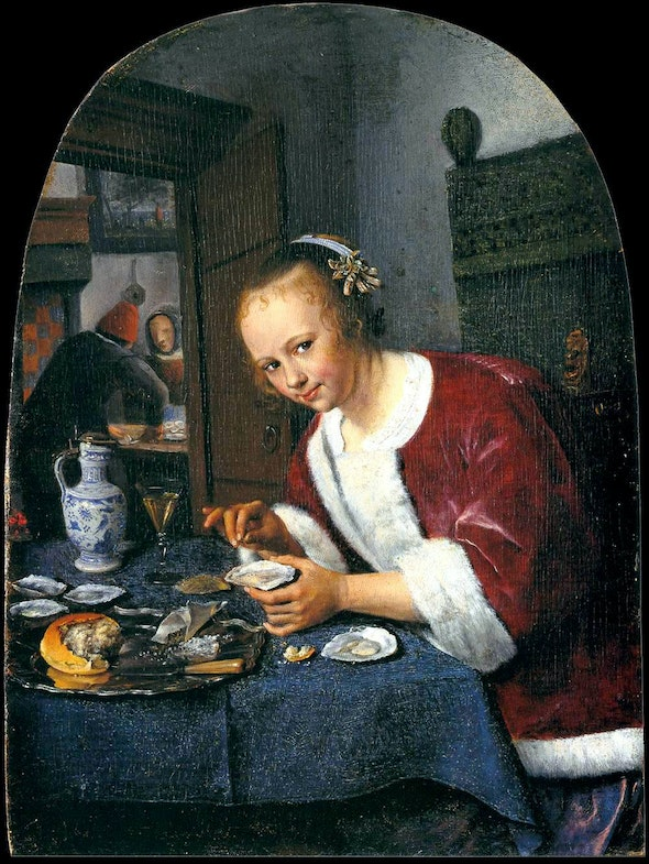 The Oyster-eater Jan Steen