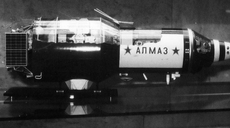 Battle space station Almaz