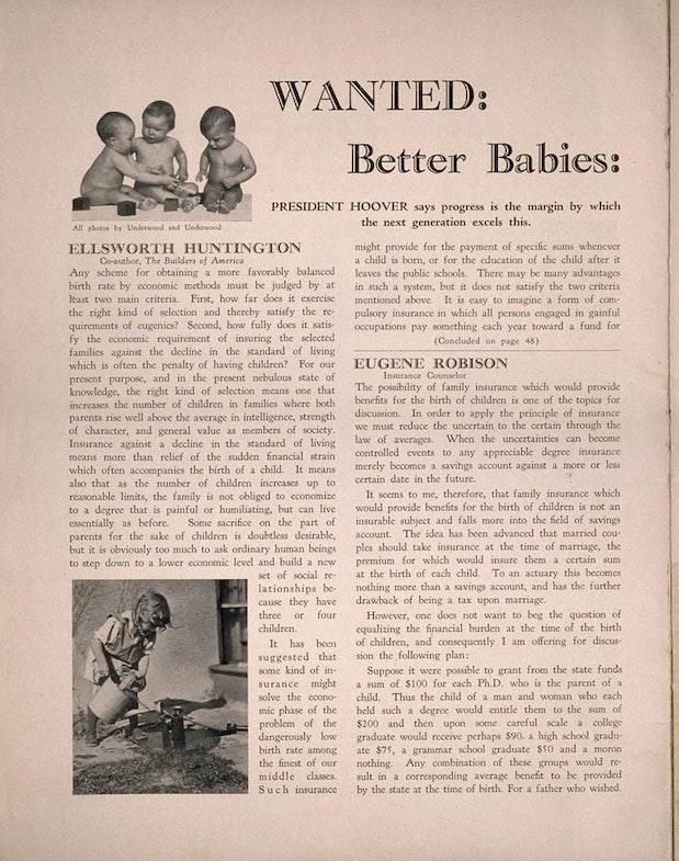 Источник: Cold Spring Harbor / eugenicsarchive.org