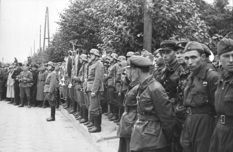 Wehrmacht and the Red Army in Brest on September 22, 1939