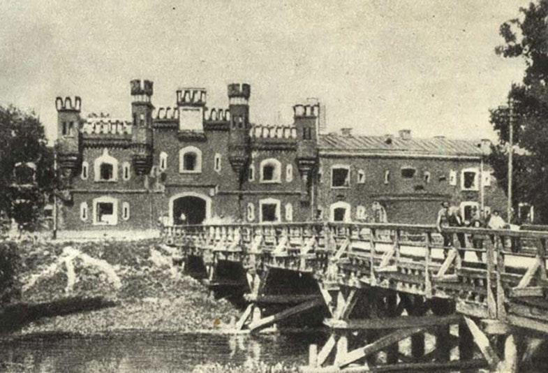 Brest Fortress German assault