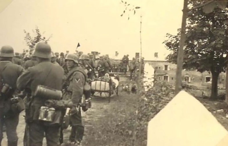 German troops near the Brest Fortress. September 1939
