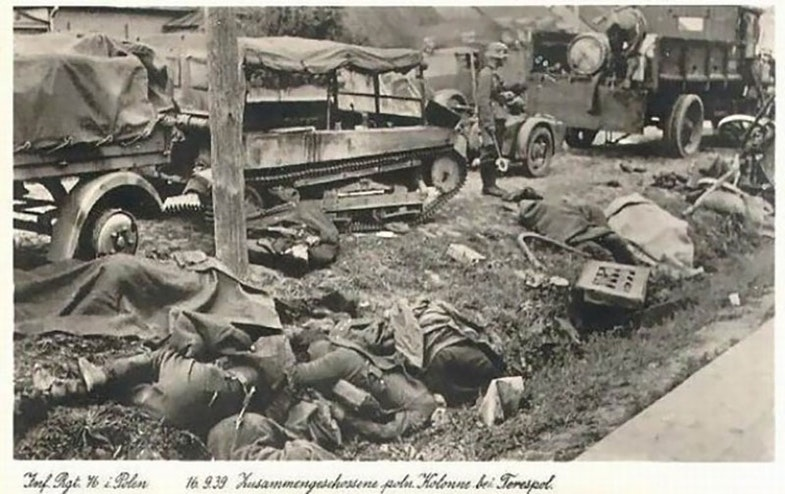 The soldiers of the Polish Army who perished during the breakthrough in the Terespol district
