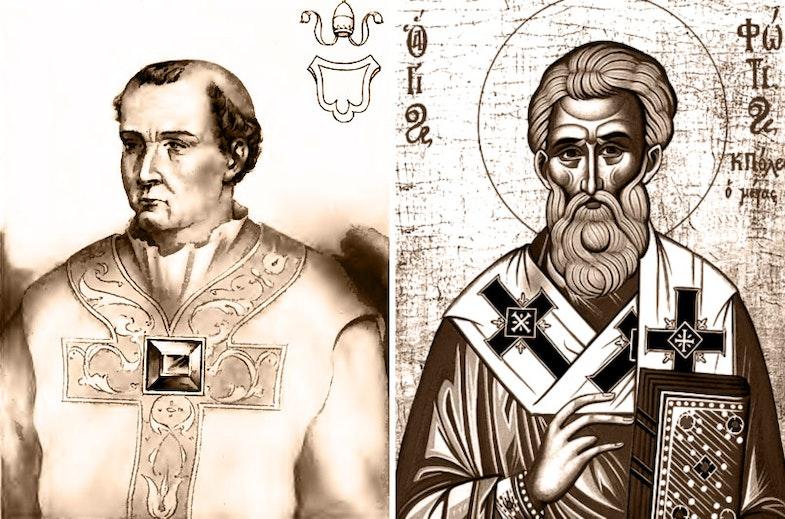 Pope Nicholas I Patriarch of Constantinople Photius I