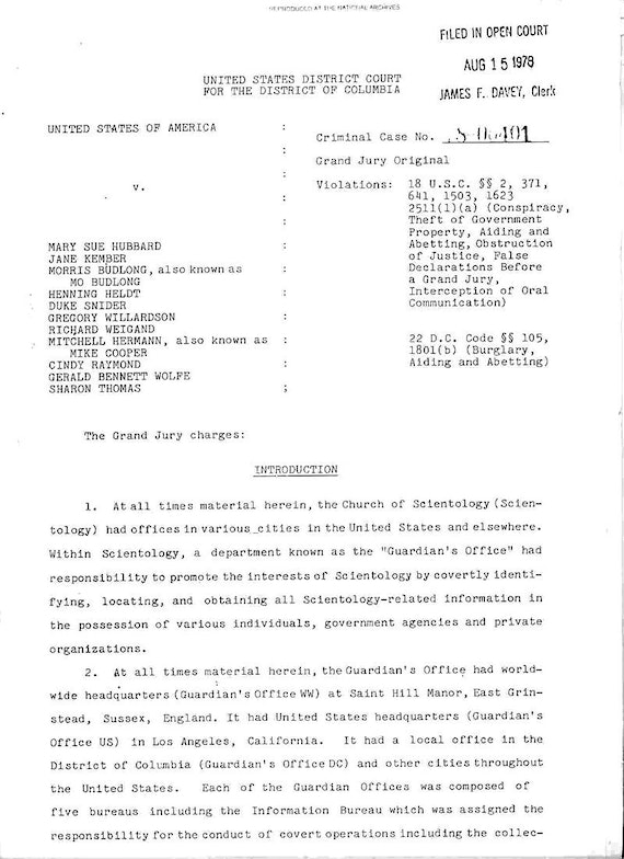 Grand Jury Charges, Introduction,