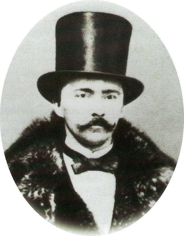 Heinrich Schliemann at 38