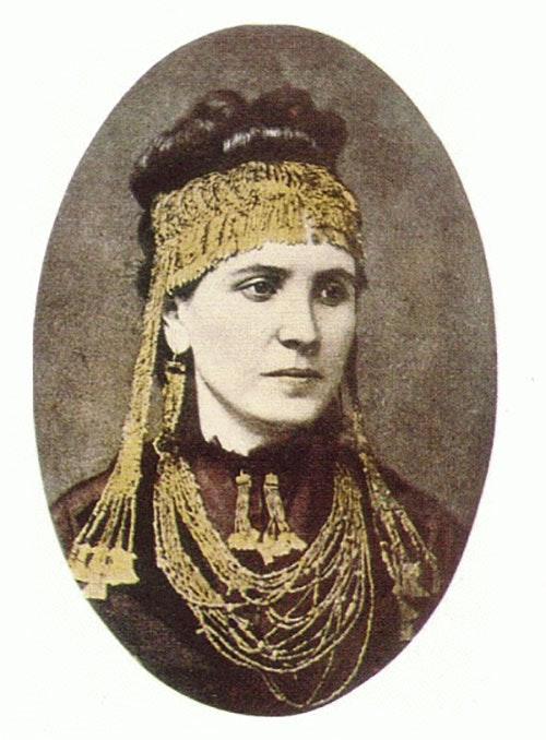 Sophia Schliemann 1874