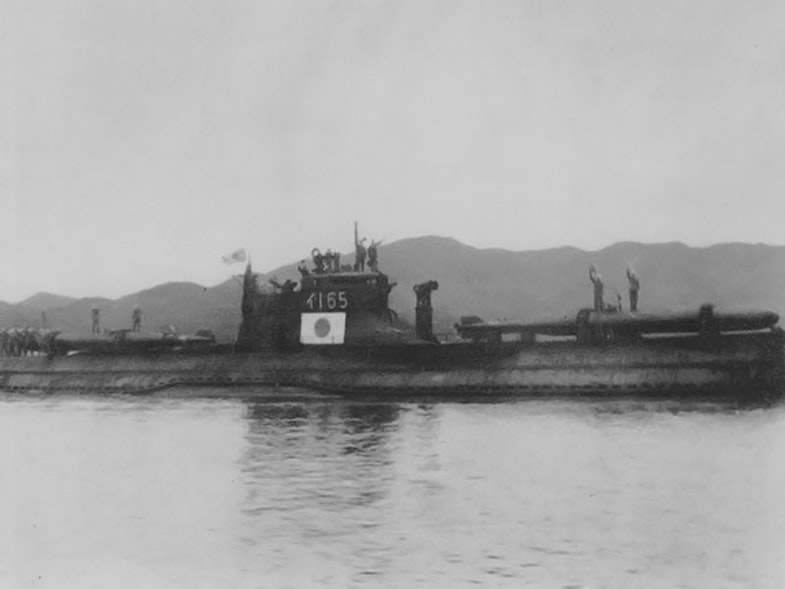 Submarine I-165 as Todoroki group on 15 June 1945