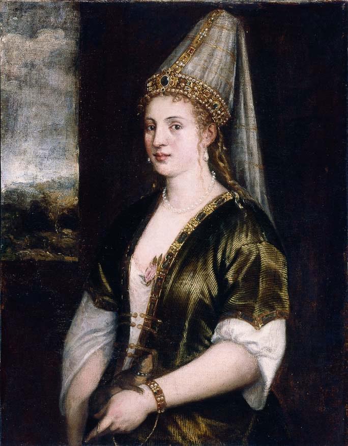 La Sultana Rossa Titian