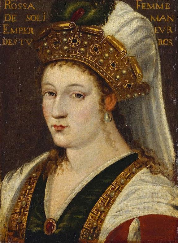 Портрет Роксолани, приблизно 1600 рік. Джерело: Royal Collection Trust /