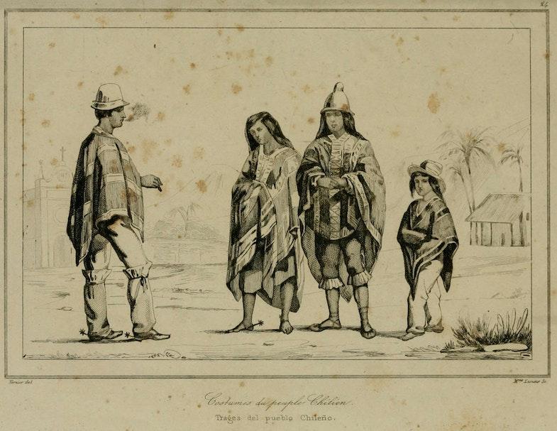 Historia de Chile Poncho