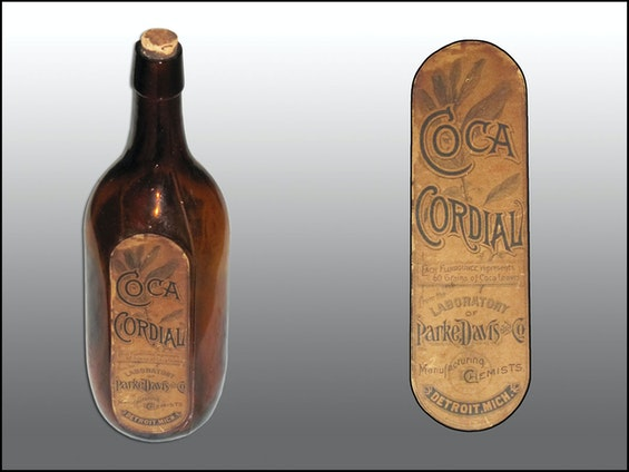 Parke Davis' Coca Cordial