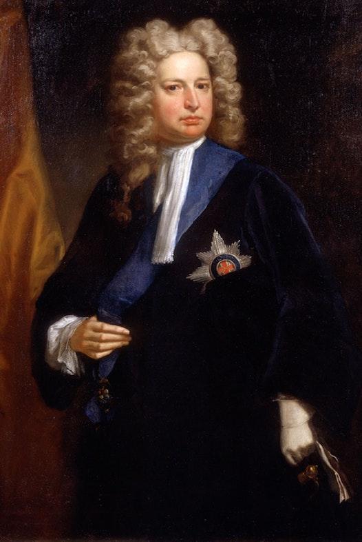 Robert Harley by Jonathan Richardson, c.1710