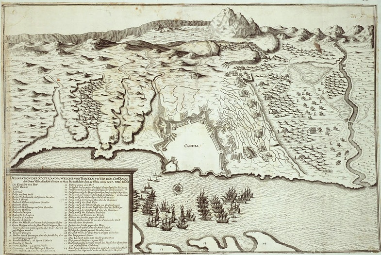 Siege of Candia by the Ottoman army