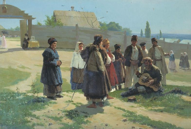 Vasily Navozov The Song of the Lyrnik