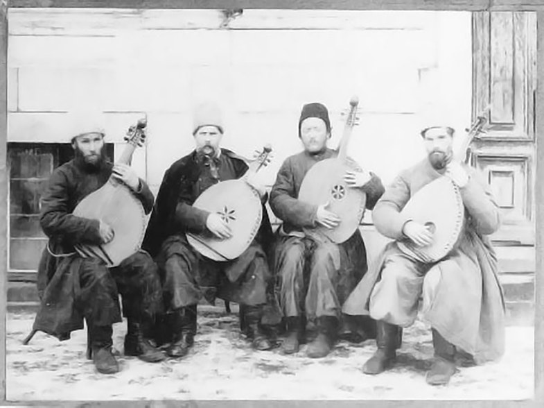 Stepan Pasyuga group of kobzars