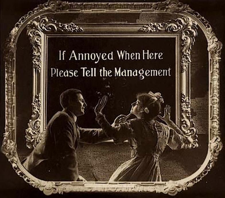 If annoyed when here, please tell the management