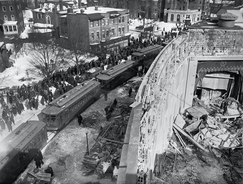 Knickerbocker Theater disaster, 1/30/22