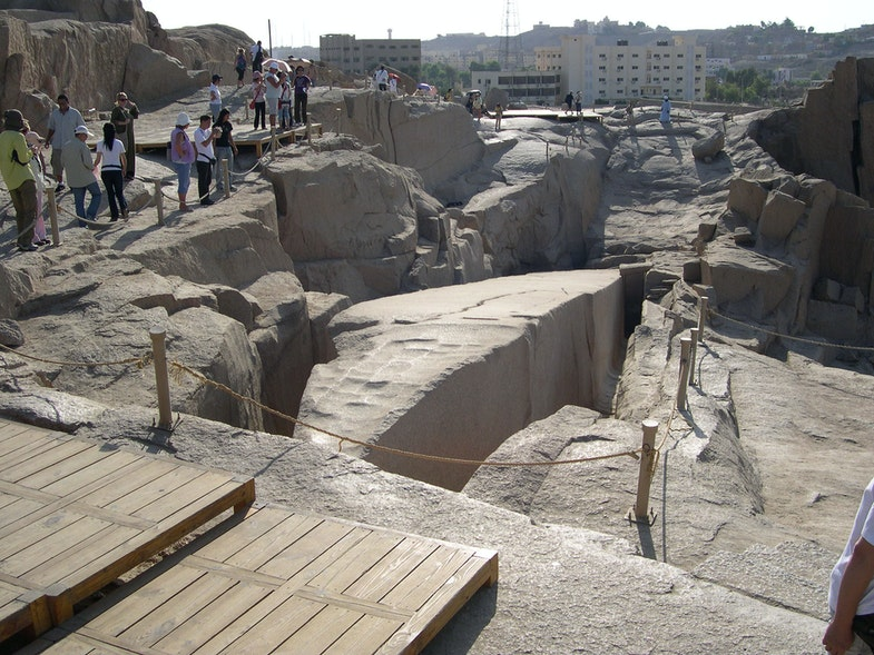 Stone quarries of Aswan