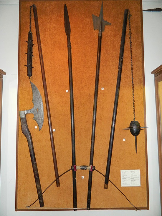 Battle chain (second from left). Lviv Historical Museum
