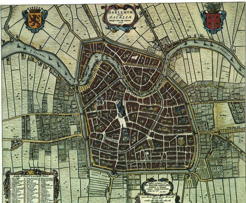 Dutch city maps, Edited by Willem and Joan Blaeu), 1652