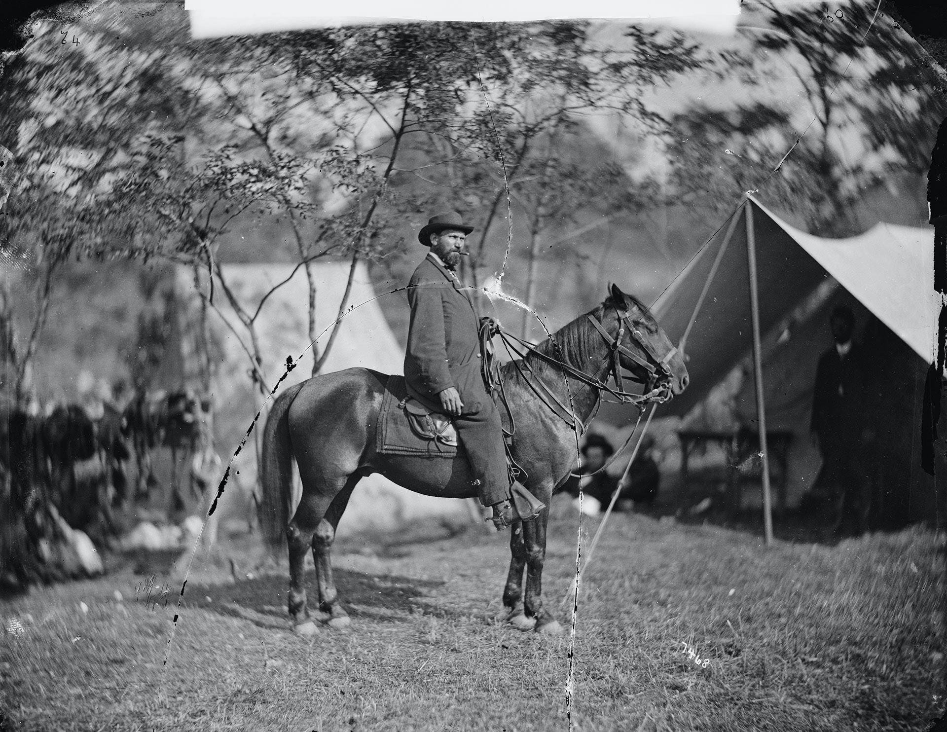 Antietam, Md. Allan Pinkerton (