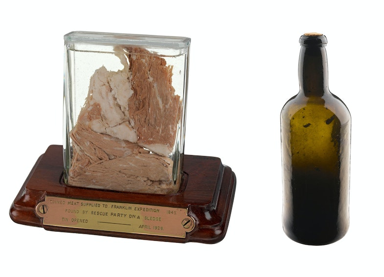 Meat sample from Sir John Franklin's last expedition