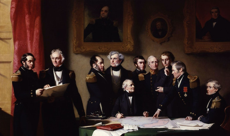 The Arctic Council planning a search for Sir John Franklin, by Stephen Pearce