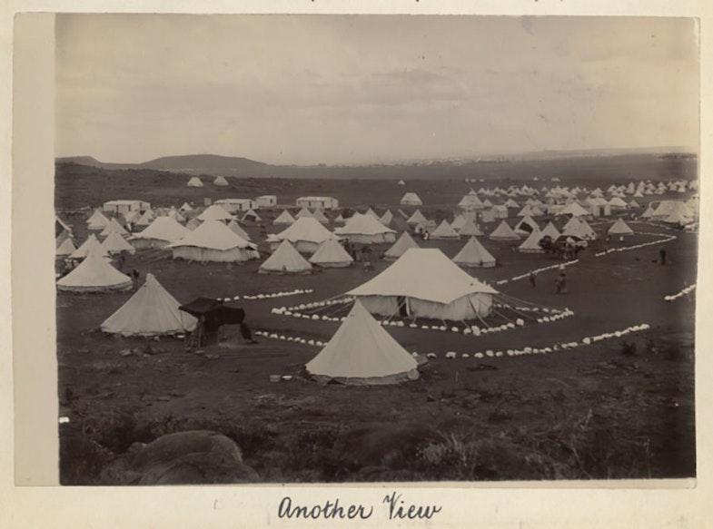 Bloemfontein Refugee Camp