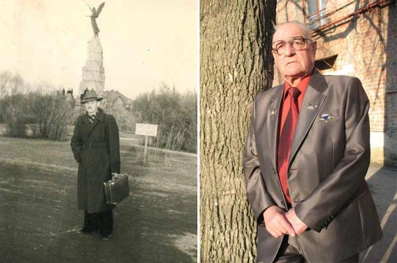 Eduard Koltsov Photos of 1956 and 2012 years