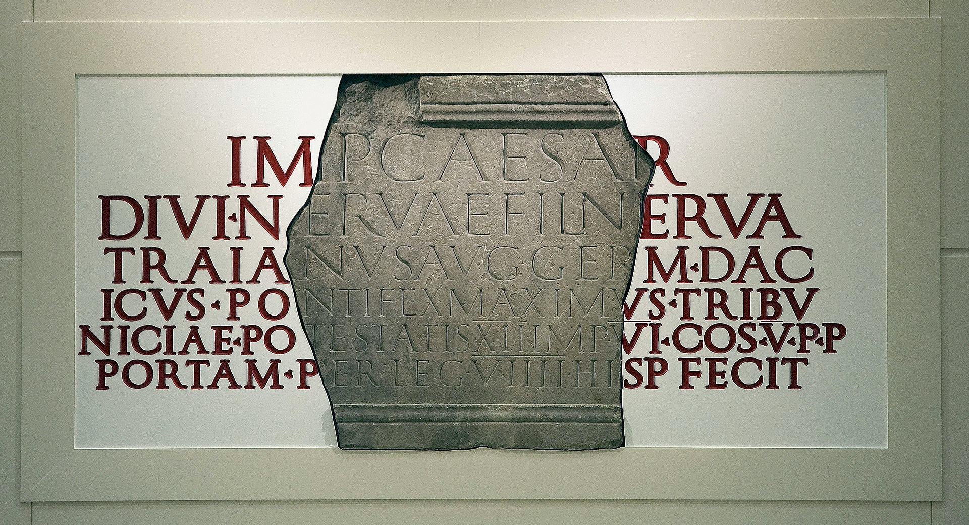 Fragment of Legio IX Hispana Tablet