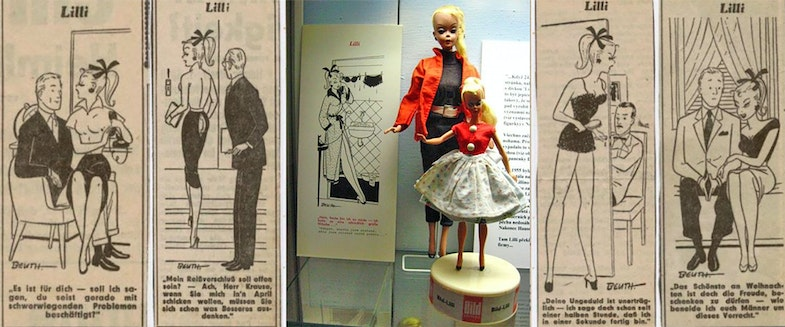 Doll Lilly - comic book hero for the adult german