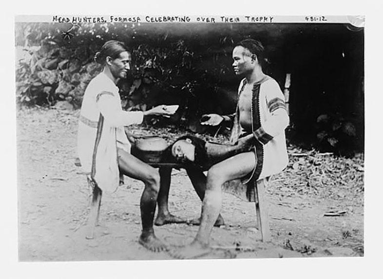 The headhunting ritual of aborigines in Taiwan