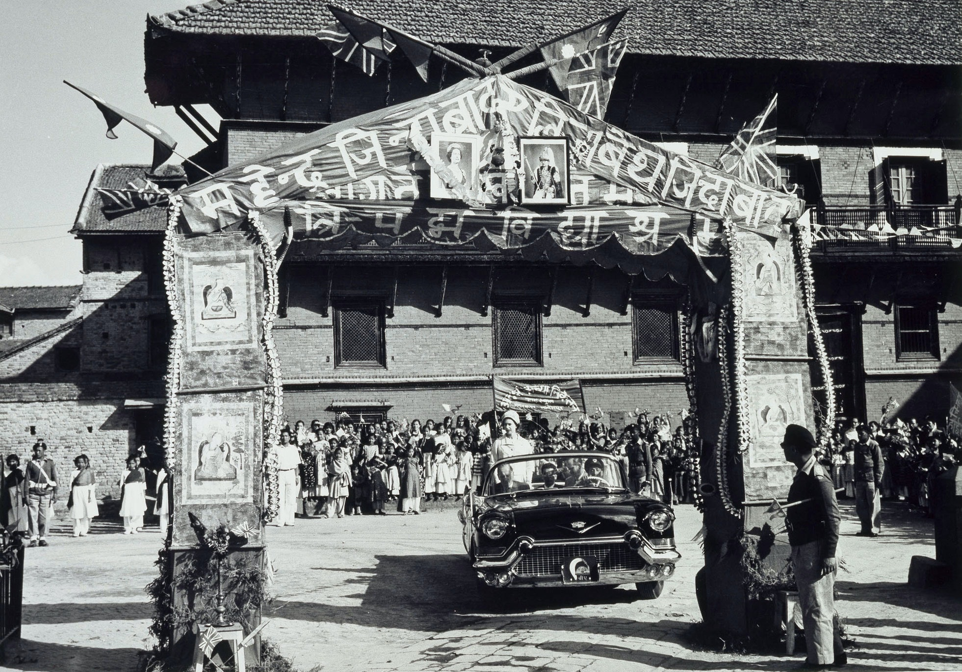 Queen in Nepal