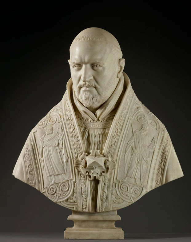 Bust of Pope Paul V Lorenzo_Bernini