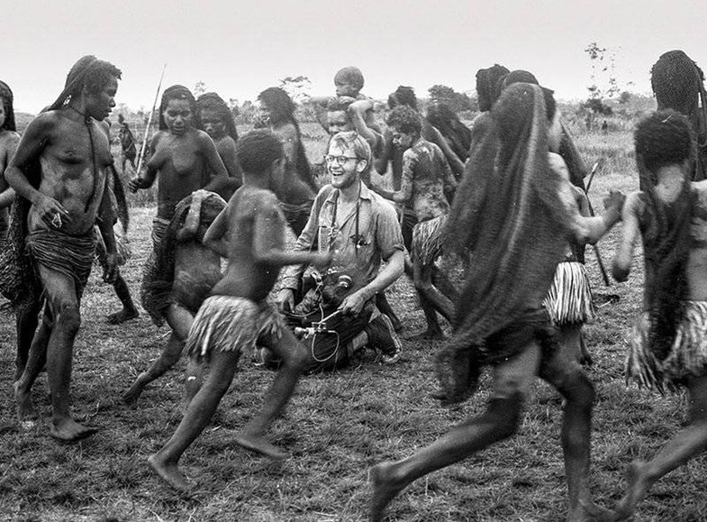 Michael Rockefeller on his first trip to New Guinea in May 1960