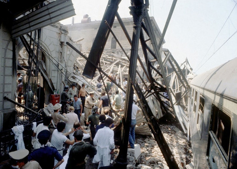 The Bologna massacre was a terrorist bombing of the Central Station at Bologna, Italy, on the morning of 2 August 1980, which killed 85 people and wounded more than 200