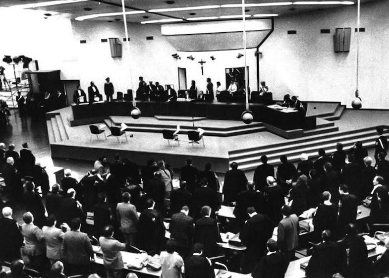 A hearing of the Maxi Trial