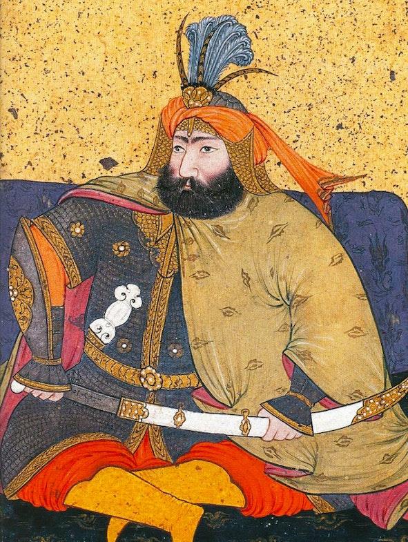 Murad IV minature