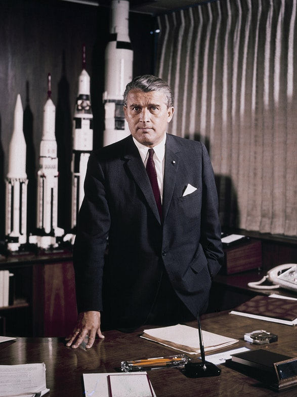 Dr. von Braun became Director of the NASA Marshall Space Flight Center on July 1, 1960