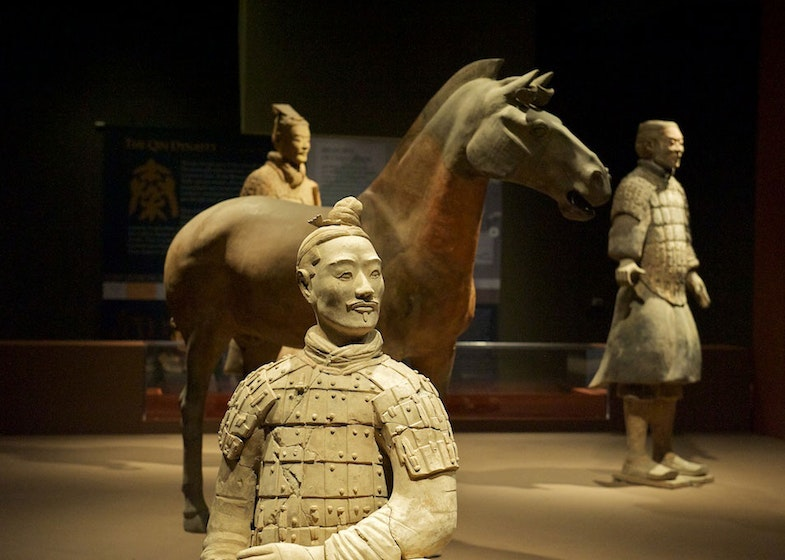 Qin warriors of the Terracotta Army