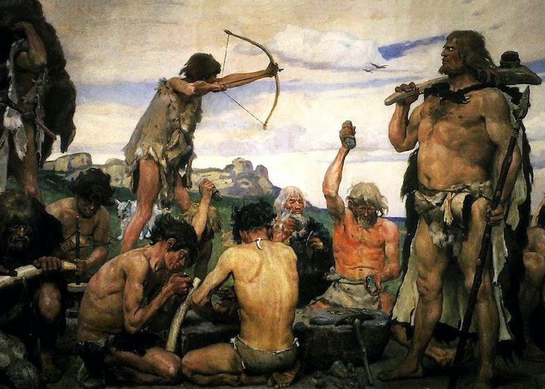Stone Age. Detail