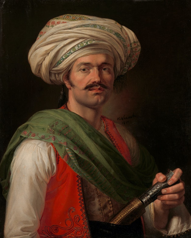Portrait of a Mameluke, said to be Roustam Raza (ca. 1781–1845